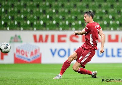 Lewandowski élu joueur de l'année en Bundesliga