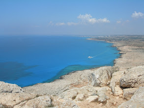 Photo: auf dem Cape Greko bei Agia  Napa