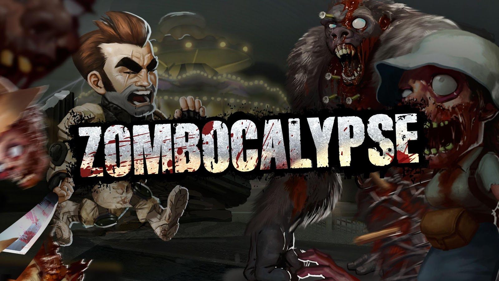 Zombocalypse – Screenshot