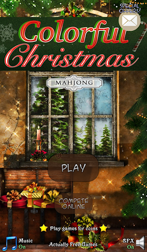 Mahjong: Colorful Christmas
