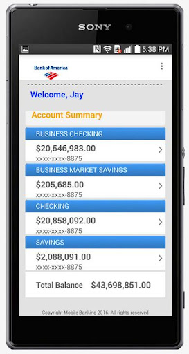 Fake Bank Account Free 5 66 2 Apk By Christ App Details