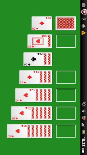 A - Solitaire card game screenshot 1