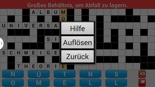 Kreuzworträtsel Deutsch Adfree screenshot 6