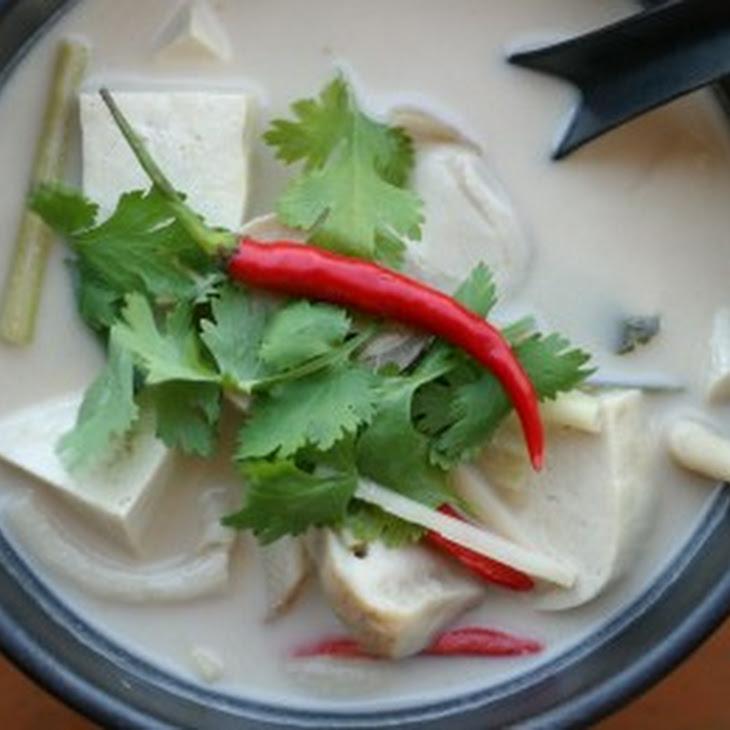 Mushroom Coconut Milk Soup Recipe