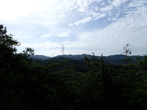 山頂岩場からの展望2