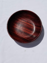 Photo: Hand turned bowl - by Not-so-Dull  http://www.notsodull.com/