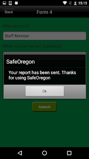 SafeOregon- screenshot thumbnail