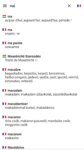 English Hungarian Dictionary  screenshot 3