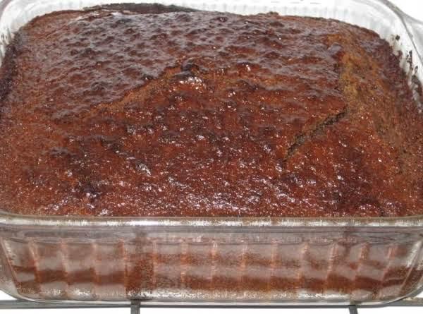 Apple Cake W/ Caramel Glaze