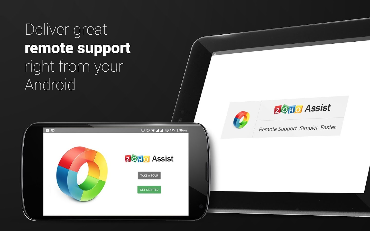 Zoho Assist- screenshot