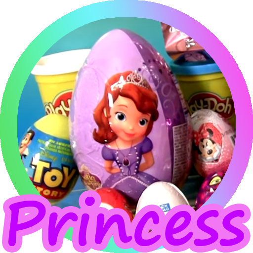 Surprise Eggs Princess