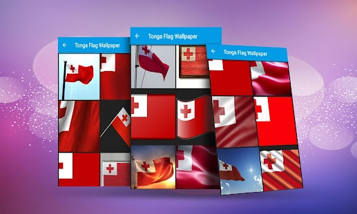 Tonga Flag Wallpaper Screenshot Thumbnail