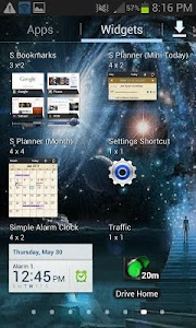 Milky Way Live Wallpaper screenshot 2