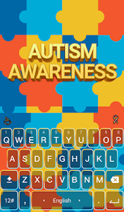 Autism Awareness Keyboard screenshot 0