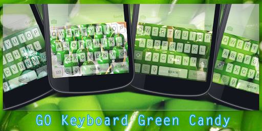 GO Keyboard Green Candy