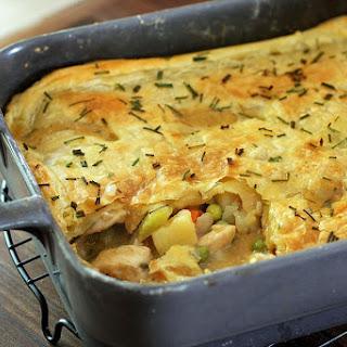 Chicken Pot Pie With Herbs.