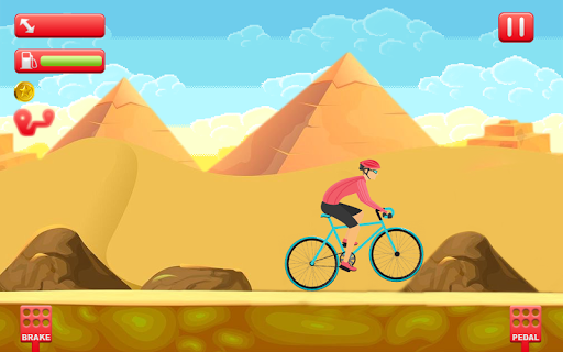 Bike Man Cycling Stunt Tricky Races 1.0 screenshots 9