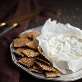 Homemade Almond, Flax and Hemp Seed Crackers (Grain-Free, Paleo) Recipe