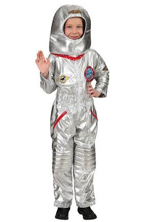 Barndräkt, astronaut