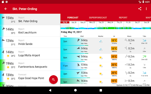 Windfinder Pro Screenshot