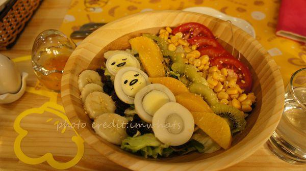 台北˙視覺效果遠勝於味覺的Gudetama Chef-蛋黃哥五星主廚餐廳