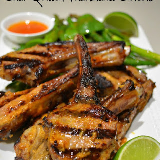 Char Grilled Thai Lamb Cutlets