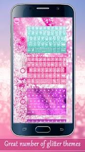 Glitter Keyboard Emoji - náhled