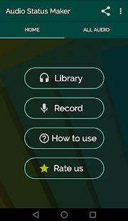 Audio Status Maker Screenshot