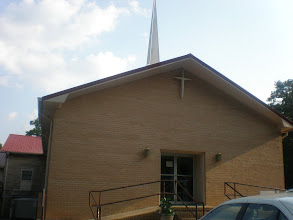 Photo: Ebenzer Baptist Church - church home of Kalonji's great-grandfather Champ McClellan