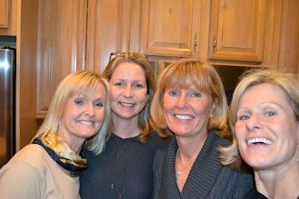 Photo: Gunilla , Anna, Lena , Anette
