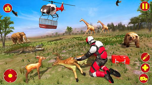 Light Superhero Speed Hero Robot Rescue Mission apkdebit screenshots 12