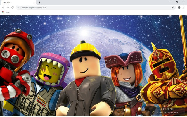 Roblox New Tab Wallpapers Collection