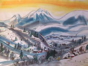 Photo: Ludvík Kunc - akvarel č. 13