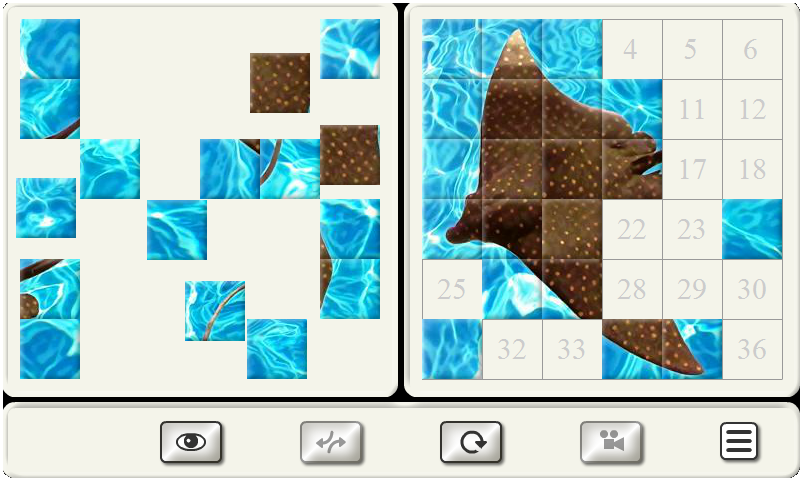 Tile Puzzle - Different Topics- screenshot