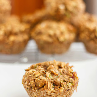 Healthy Zucchini and Banana Muffins