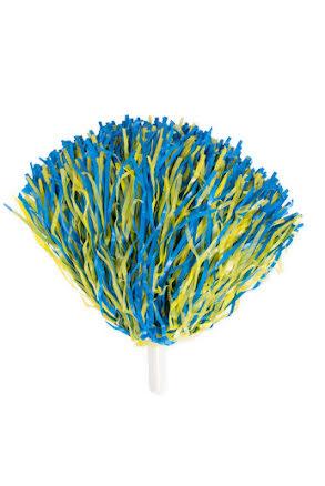 Pom Pom, blå-gul