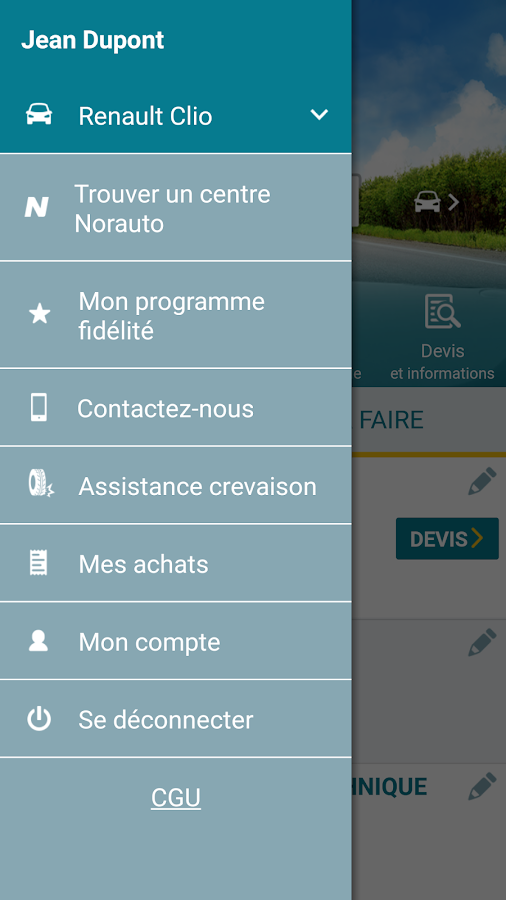 MonNorauto- screenshot