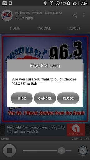 KISS FM 96.3 LEON 1.1.48 screenshots 9