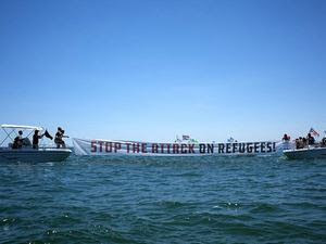stop attack on refugees