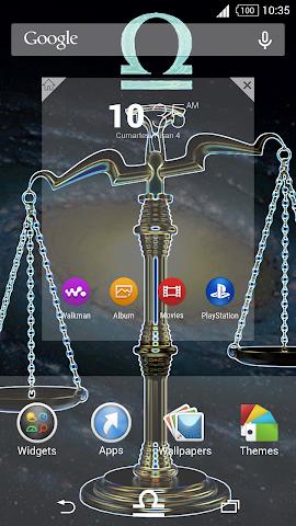 android For Xperia Theme Libra Screenshot 2