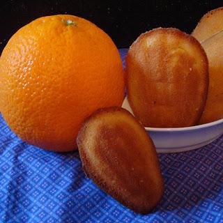 Orange Madelines.