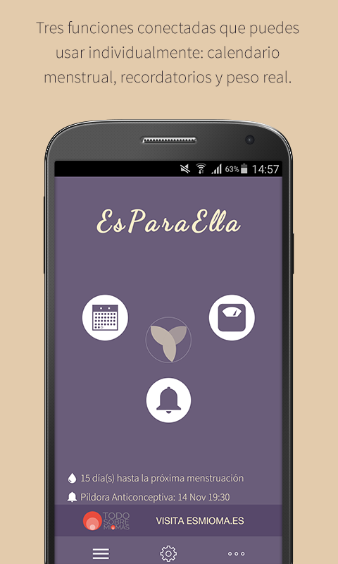 EsParaElla- screenshot