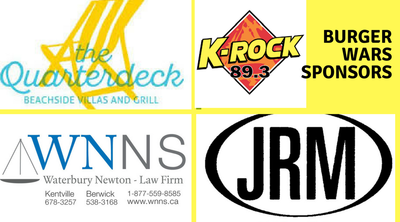 The Quarterdeck is providing the grand prize for the Burger War Passport winner, Waterbury Newton Law firm is sponsoring our K-Rock ads restaurant supplier J R Mahoney in Sydney is supplying a prize for our winning chef!  K-Rock 89.3 is our media sponsor!