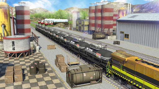 Oil Tanker Train Simulator 1.4 screenshots 1