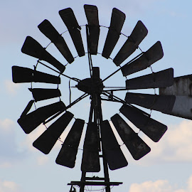 Windmill by Louisa Botha - Artistic Objects Technology Objects ( nature, landscape, closeup, windmill,  )