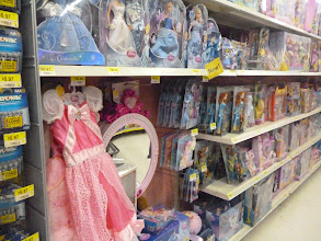 Photo: More dresses in the toys section.