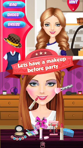 High School Party Makeover - BFFs Night Out screenshot 4