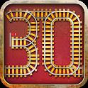30 rails - board game icon