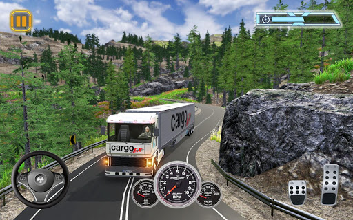 Euro Cargo Truck Transport Drive Simulator 2019 1.1.1 screenshots 1