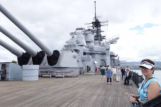 Photo: USS Battleship Missouri. Quite a treat for this history buff!